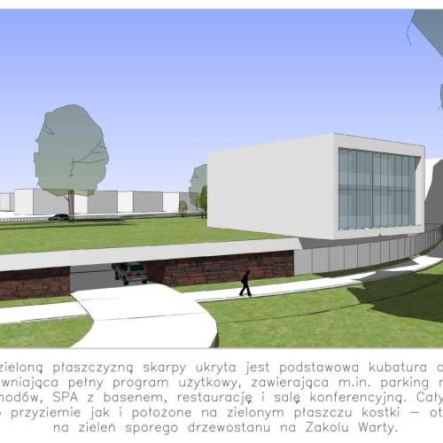 thinking architects ARCHITEKT Jakub Gwizdała projekty gotowe nowoczesny projekt domu hotel spa PUSZCZYKOWO ZAKOLE WARTY