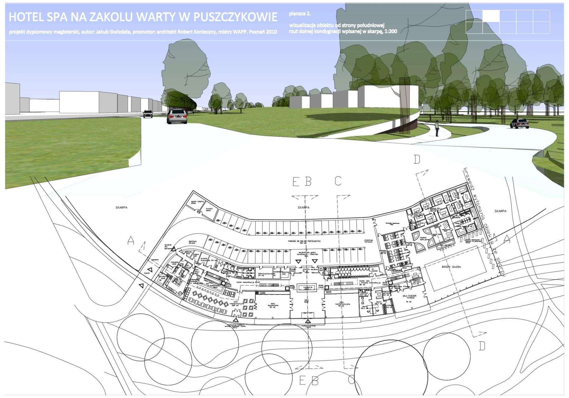 thinking architects ARCHITEKT Jakub Gwizdała projekty gotowe nowoczesny projekt domu level-0-SPA-puszczykowo-thinking-architects