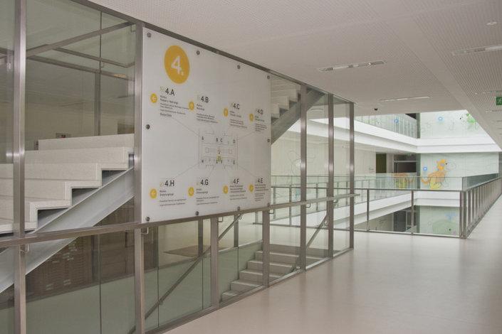 thinking architects ARCHITEKT Jakub Gwizdała projekty gotowe projekt domu Wayfinding-Signage Warsaw Pediatric Hospital (1)