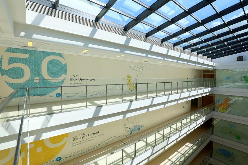 thinking architects ARCHITEKT Jakub Gwizdała projekty gotowe projekt domu Wayfinding-Signage Warsaw Pediatric Hospital (15)