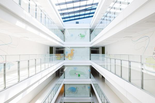 thinking architects ARCHITEKT Jakub Gwizdała projekty gotowe projekt domu Wayfinding-Signage Warsaw Pediatric Hospital (3)