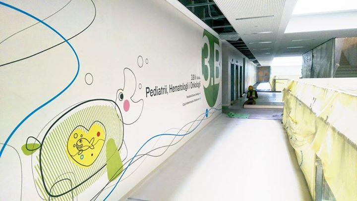 thinking architects ARCHITEKT Jakub Gwizdała projekty gotowe projekt domu Wayfinding-Signage Warsaw Pediatric Hospital (6)