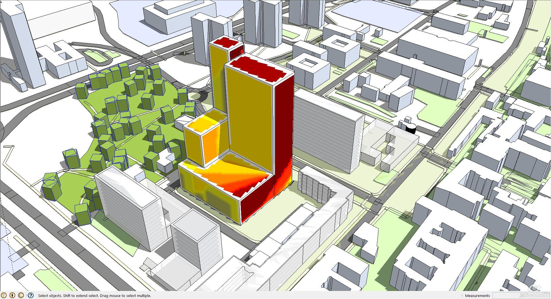 thinking architects ARCHITEKT Jakub Gwizdała projekty gotowe projekt domu sun analysis - analiza nasłonecznienia 02