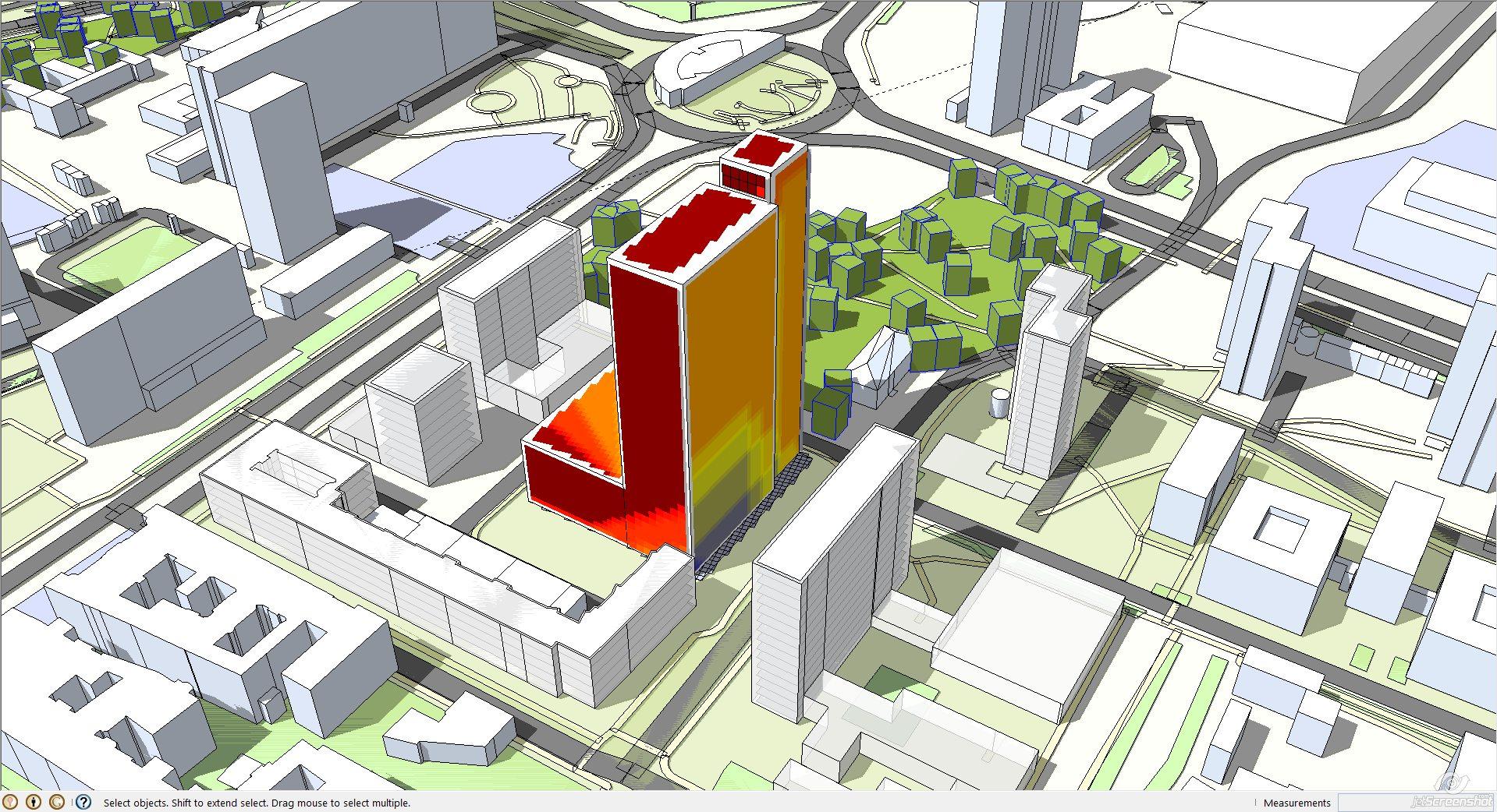 thinking architects ARCHITEKT Jakub Gwizdała projekty gotowe projekt domu sun analysis - analiza nasłonecznienia 03
