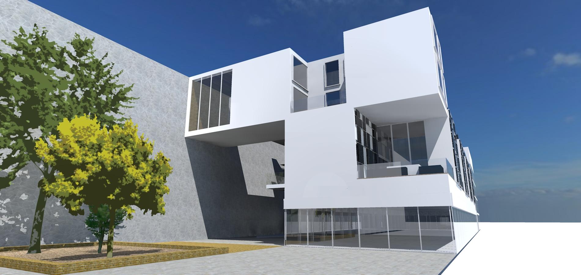 thinking architects ARCHITEKT Jakub Gwizdała Al.Marcinkowskiego Poznań TARASY