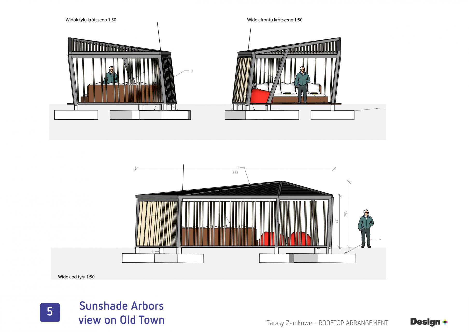 Tarasy Zamkowe Lublin taras na dachu koncept__43